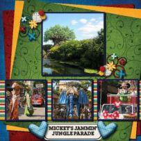 Mickeys Jammin Jungle Parade