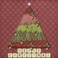 Glitter and Glam Country Tree