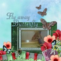 Fly Away Butterfly