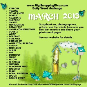 rch Daily Word Challenge list