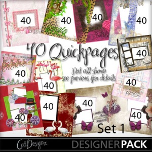40 QuickPage Set 1 preview